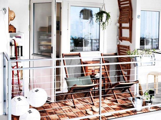Фотография: Балкон в стиле Скандинавский, Квартира, Аксессуары, Декор, Мебель и свет, Ремонт на практике, Гид – фото на INMYROOM