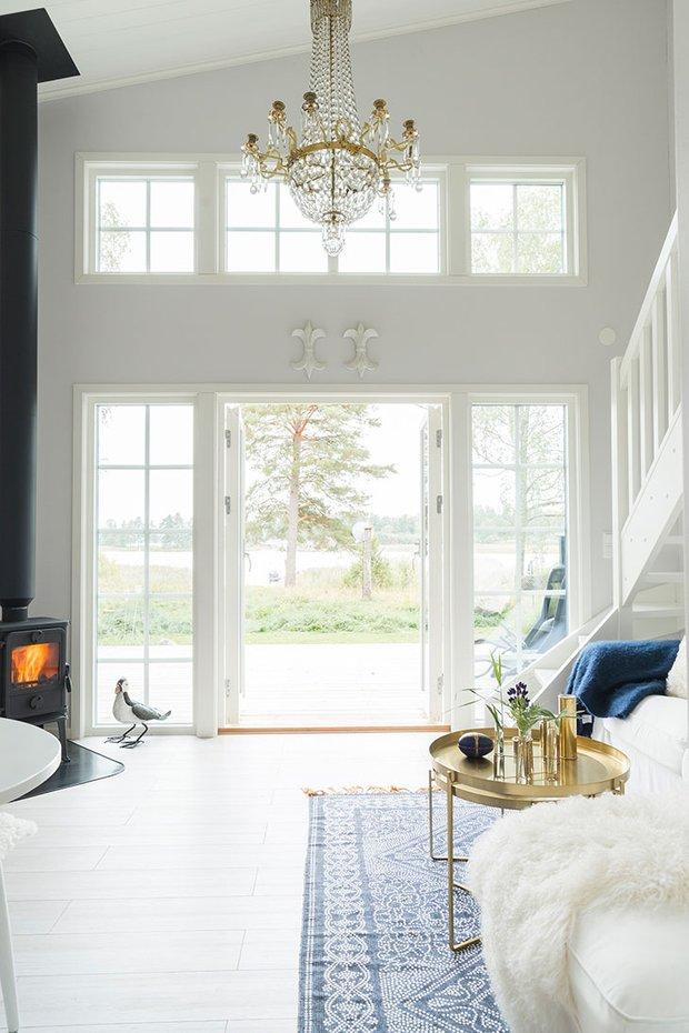 Фотография: Гостиная в стиле Скандинавский, Декор интерьера, Дом, Швеция, Дача, Дом и дача – фото на INMYROOM