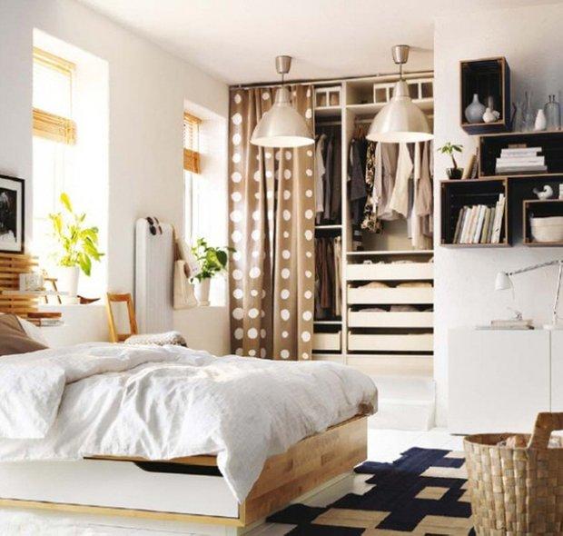 Фотография: Спальня в стиле Современный, Декор интерьера, Текстиль, Советы, Шторы, Балдахин – фото на INMYROOM
