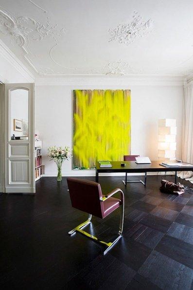 Фотография: Офис в стиле Скандинавский, Декор интерьера, Дизайн интерьера, Цвет в интерьере, Желтый – фото на INMYROOM