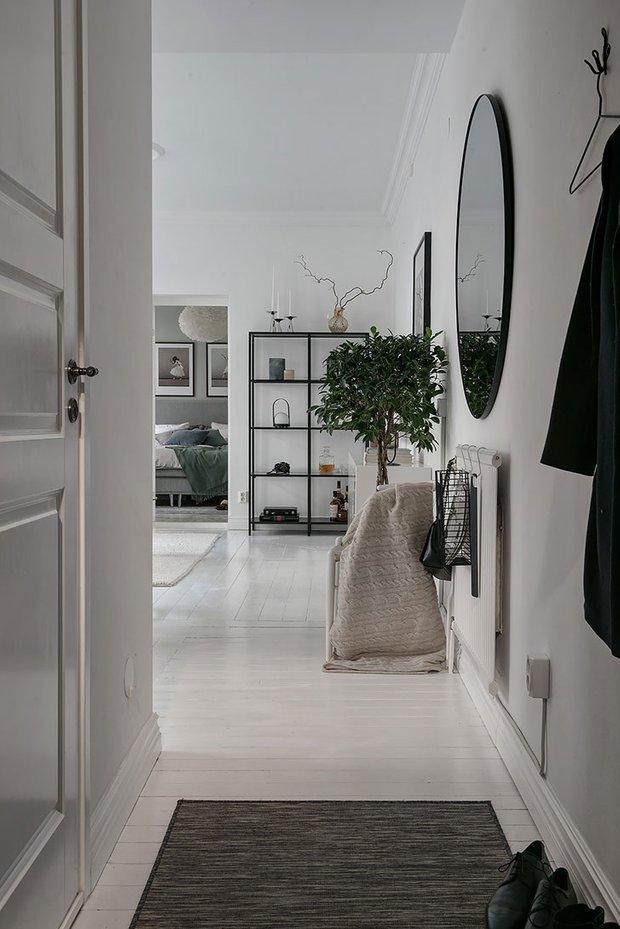 Фотография: Прихожая в стиле Скандинавский, Декор интерьера, Квартира, Швеция, 2 комнаты, 40-60 метров, Alvhem – фото на INMYROOM
