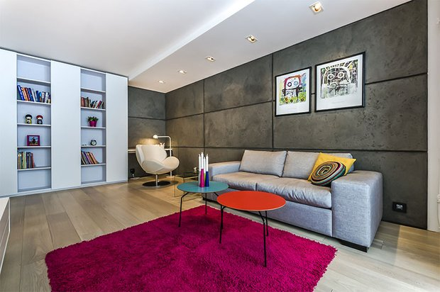 Фотография: Гостиная в стиле Современный, Декор интерьера, Интерьер комнат, Тема месяца – фото на INMYROOM