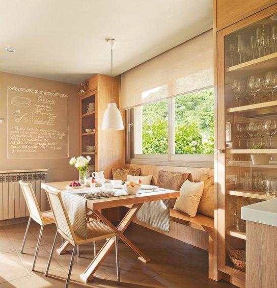 Фотография: Кухня и столовая в стиле Эко, Интерьер комнат – фото на INMYROOM