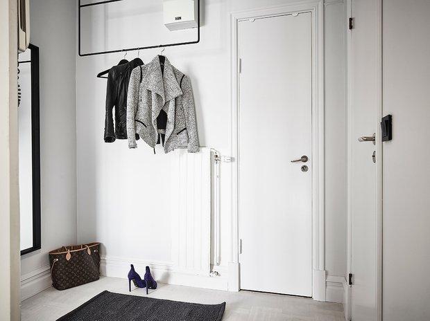 Фотография: Прихожая в стиле Скандинавский, Декор интерьера, Квартира, Студия, до 40 метров – фото на INMYROOM