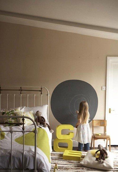 Фотография: Детская в стиле Прованс и Кантри, Современный, Интерьер комнат, Обои, Ремонт, Стены, Краска – фото на INMYROOM