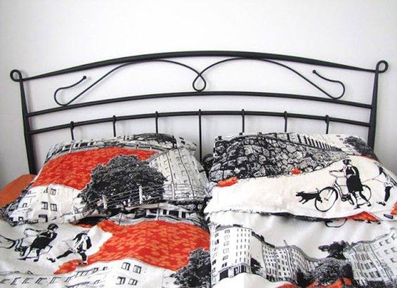 Фотография:  в стиле , Спальня, Декор интерьера, Дом, Текстиль – фото на INMYROOM