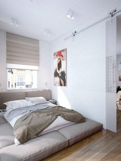 Фотография: Спальня в стиле Современный, Минимализм, Декор интерьера, Интерьер комнат, Хрущевка – фото на INMYROOM