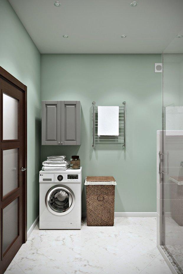 Фотография: Ванная в стиле Современный, Минимализм, Лофт, Квартира, Проект недели – фото на INMYROOM