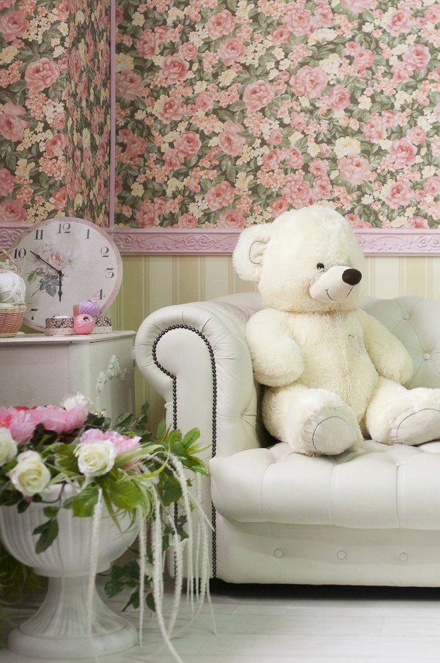 Фотография: Декор в стиле Прованс и Кантри, Гостиная, Франция, Интерьер комнат – фото на INMYROOM