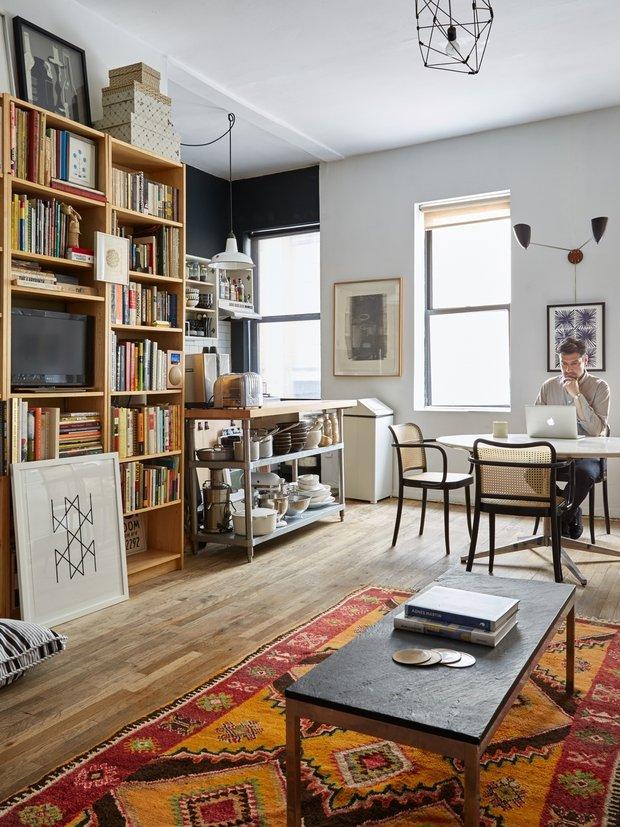 Фотография:  в стиле , Малогабаритная квартира, Квартира, США, Советы, Нью-Йорк – фото на INMYROOM