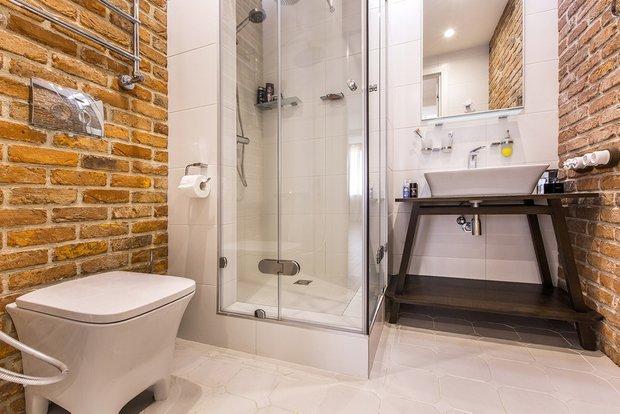 Фотография: Ванная в стиле Скандинавский, Кухня и столовая, Советы, Ремонт на практике – фото на INMYROOM
