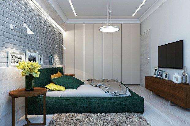 Фотография: Спальня в стиле Лофт, Современный, Гид – фото на INMYROOM