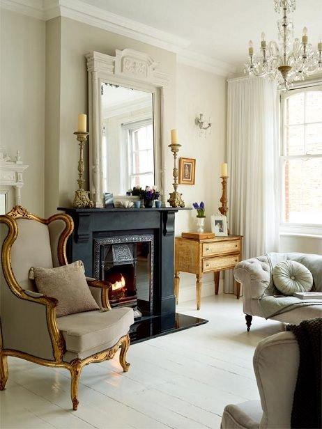 Фотография: Гостиная в стиле , Классический, Дизайн интерьера, Викторианский, Ампир – фото на INMYROOM