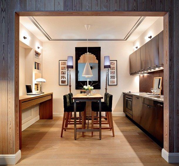 Фотография:  в стиле , Кухня и столовая, Мебель и свет, Советы – фото на INMYROOM