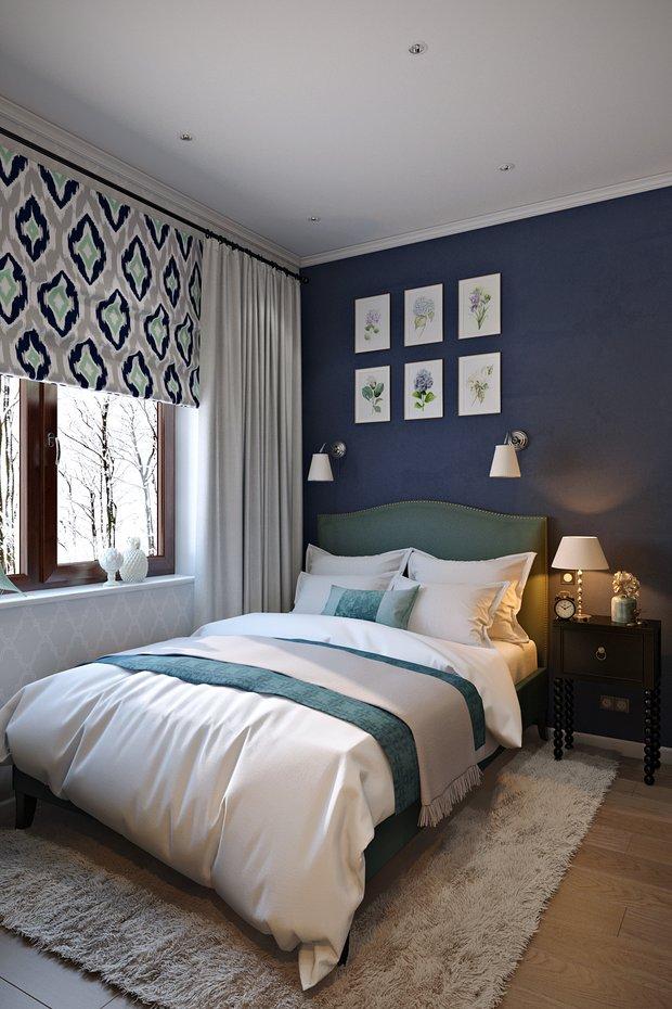 Фотография: Спальня в стиле Прованс и Кантри, Лофт, Квартира, Проект недели – фото на INMYROOM