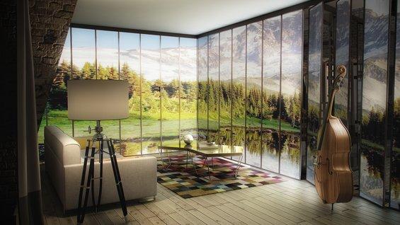 Фотография: Мебель и свет в стиле Современный, Эклектика, Квартира, Дома и квартиры – фото на INMYROOM