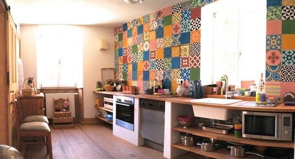 Фотография: Кухня и столовая в стиле Прованс и Кантри, Современный, Декор интерьера, Декор дома, Плитка – фото на INMYROOM