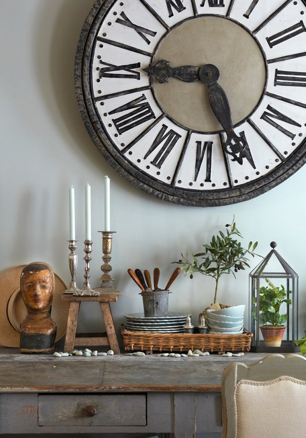 Фотография:  в стиле , Франция, интерьер кухни, кухня – фото на INMYROOM