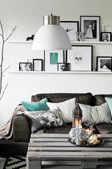 Фотография: Гостиная в стиле Скандинавский, Декор интерьера, Советы – фото на INMYROOM
