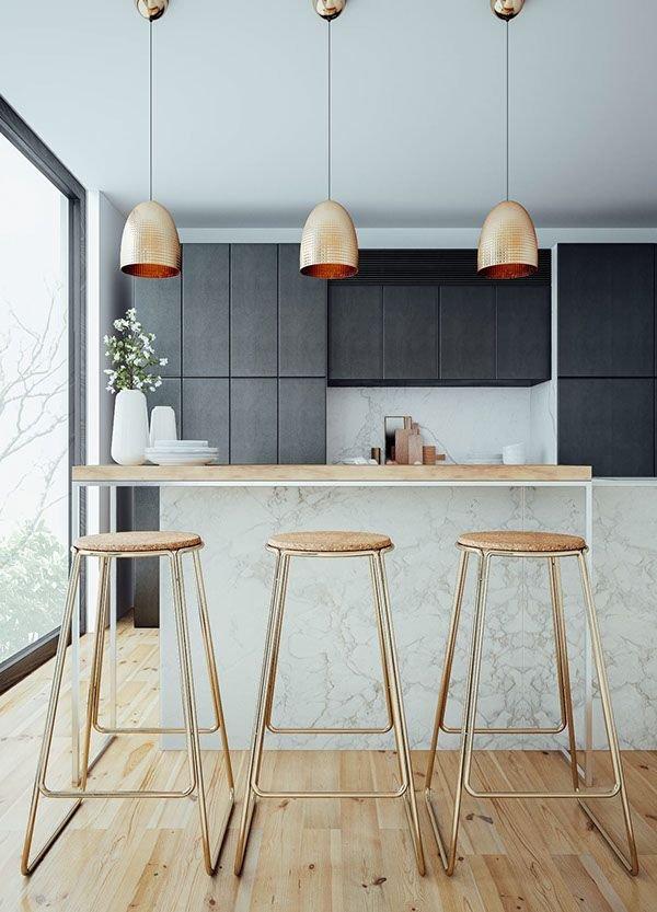 Фотография: Кухня и столовая в стиле Скандинавский, Декор интерьера, Дизайн интерьера, Цвет в интерьере, Желтый – фото на INMYROOM