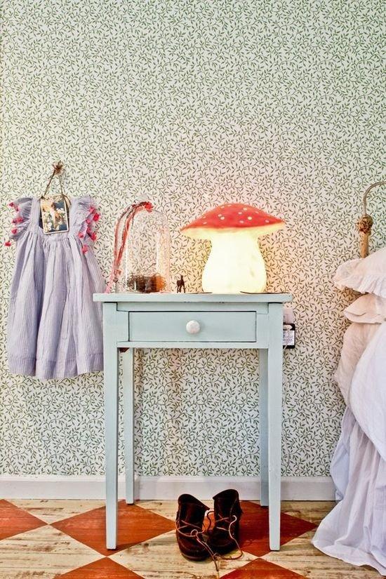 Фотография: Декор в стиле Прованс и Кантри, Современный, Детская, Интерьер комнат, Роспись – фото на INMYROOM