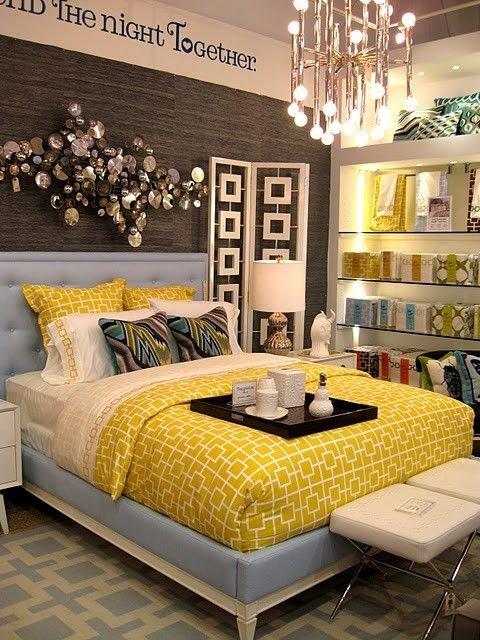 Фотография: Спальня в стиле Восточный, Эклектика, Декор интерьера, Дизайн интерьера, Цвет в интерьере – фото на INMYROOM