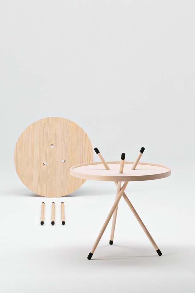 Стол Mikado входит в постоянную коллекцию Музея современного искусства (MoMA) в Нью-Йорке.
