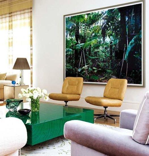 Фотография: Гостиная в стиле Современный, Декор интерьера, Декор дома, Плетеная мебель – фото на INMYROOM