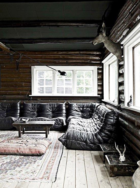 Фотография: Гостиная в стиле Прованс и Кантри, Современный, Индустрия, Новости, Мягкая мебель, Диван, Ligne Roset – фото на INMYROOM
