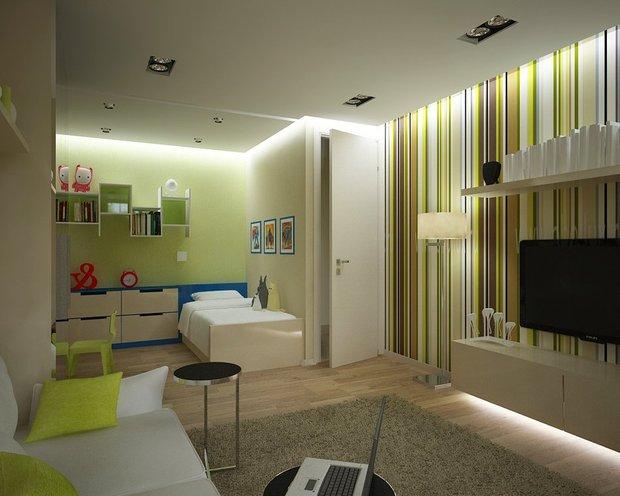 Фотография: Гостиная в стиле Современный, Архитектура, Планировки, Аксессуары, Декор, Мебель и свет, Гид – фото на INMYROOM