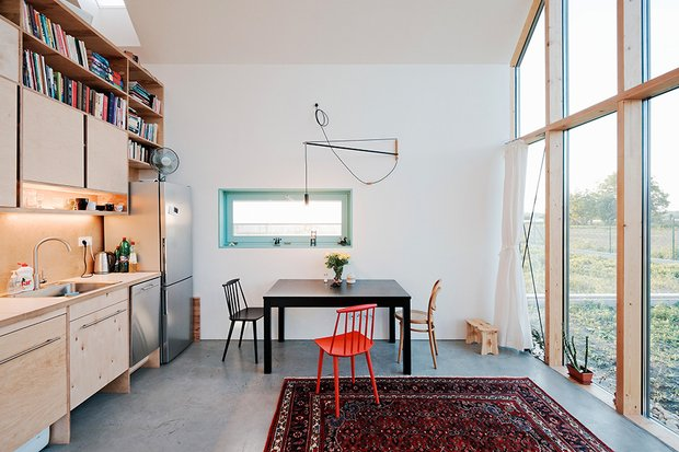 Фотография: Гостиная в стиле Лофт, Декор интерьера, Дом, Мебель и свет, Минимализм – фото на INMYROOM