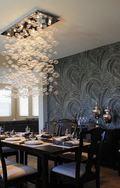 Фотография: Кухня и столовая в стиле , Классический, Декор интерьера, DIY, Мебель и свет, Советы, Люстра – фото на INMYROOM