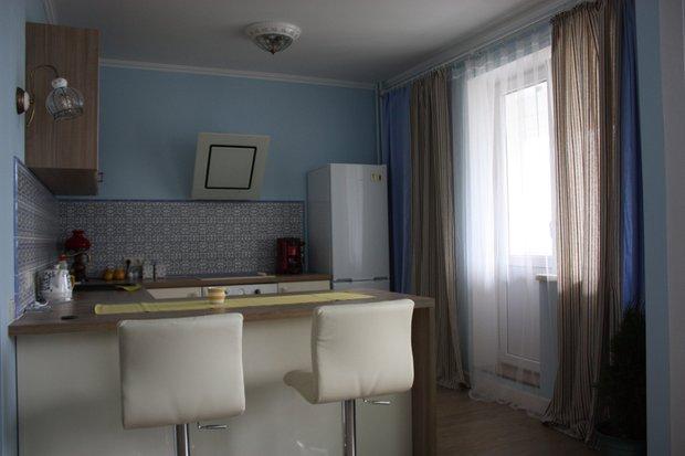 Фотография: Кухня и столовая в стиле Современный, Малогабаритная квартира, Квартира, Дома и квартиры, Ремонт – фото на INMYROOM