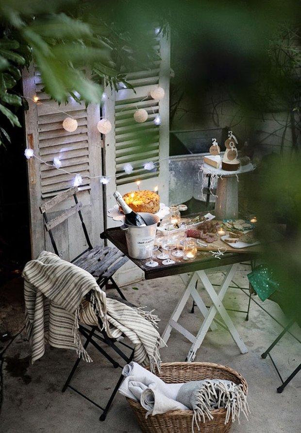 Фотография: Прочее в стиле Прованс и Кантри, Современный, Балкон, Интерьер комнат, специальная тема: балконы – фото на INMYROOM