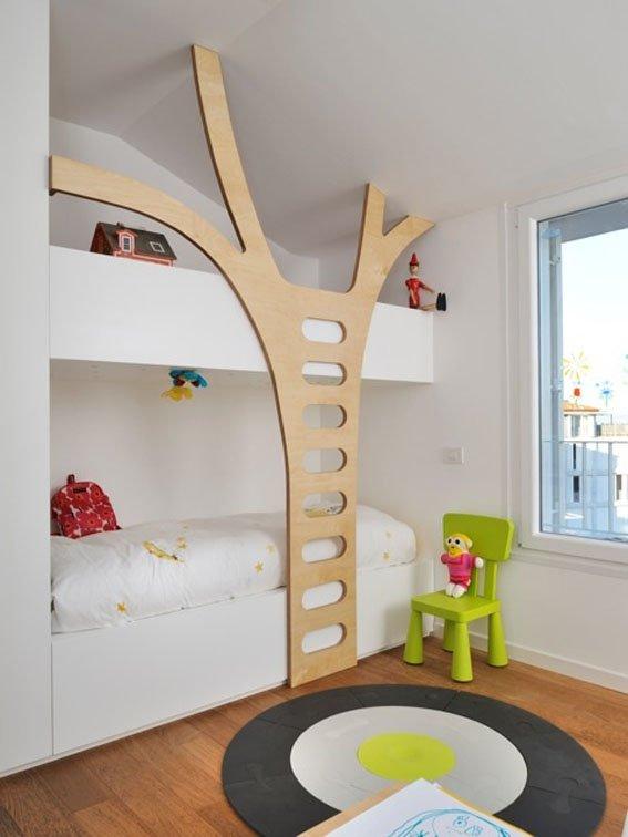Фотография: Детская в стиле Современный, Спальня, Декор интерьера, Интерьер комнат, Мебель и свет – фото на INMYROOM