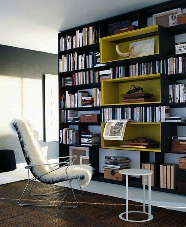 Фотография: Офис в стиле Современный, Декор интерьера, Декор дома, Библиотека – фото на INMYROOM