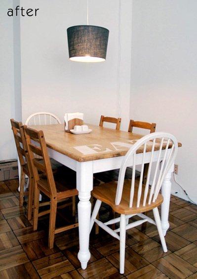 Фотография: Спальня в стиле Прованс и Кантри, Кухня и столовая, Декор интерьера, DIY, Мебель и свет, Переделка, Кресло, Диван, Люстра, Комод, Зеркало, Стул, Холодильник, идеи переделки старой мебели, переделка старой мебели фото – фото на INMYROOM