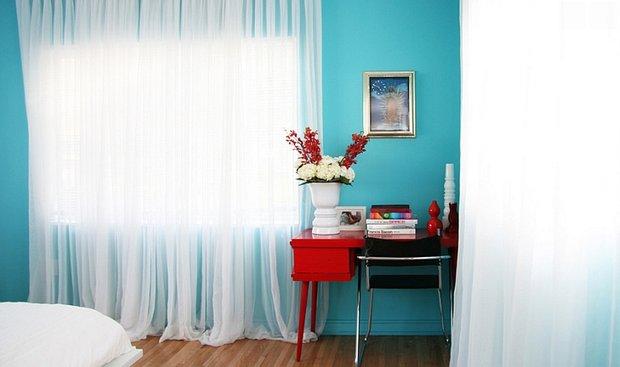 Фотография: Спальня в стиле Современный, Декор интерьера, Декор, Белый, Зеленый, Бежевый, Синий, Голубой, Оранжевый, Бирюзовый – фото на INMYROOM