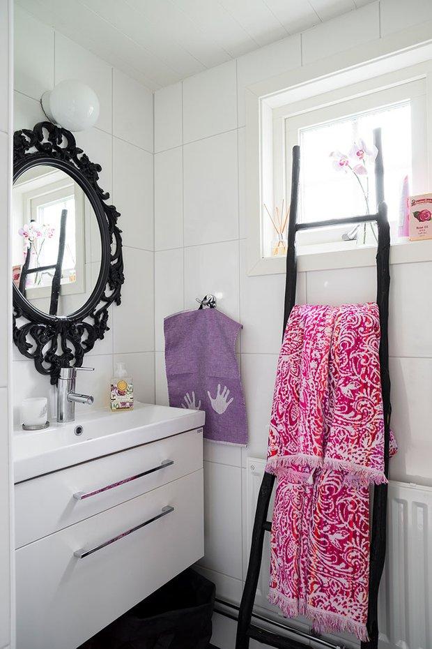 Фотография: Ванная в стиле Скандинавский, Декор интерьера, Дом, Швеция, Дача, Дом и дача – фото на INMYROOM