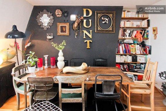 Фотография: Кухня и столовая в стиле Современный, Декор интерьера, Малогабаритная квартира, Квартира, Дома и квартиры, Airbnb – фото на INMYROOM