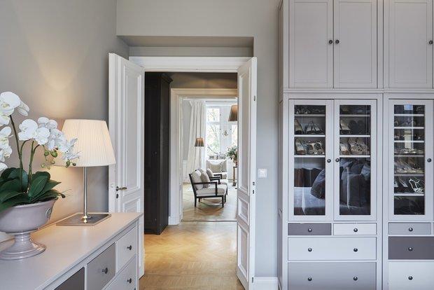 Фотография: Спальня в стиле Классический, Современный, Декор интерьера, Квартира, 4 и больше, Более 90 метров – фото на InMyRoom.ru