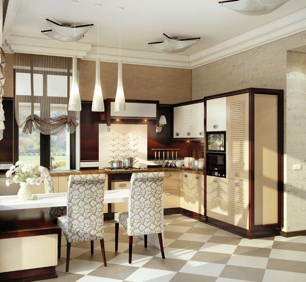 Фотография: Кухня и столовая в стиле Классический, Современный, Декор интерьера, Дом, Дома и квартиры, Проект недели, Неоклассика – фото на INMYROOM