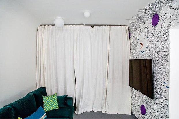 Фотография: Спальня в стиле Лофт, Кухня и столовая, Интерьер комнат, Elle Decoration – фото на INMYROOM