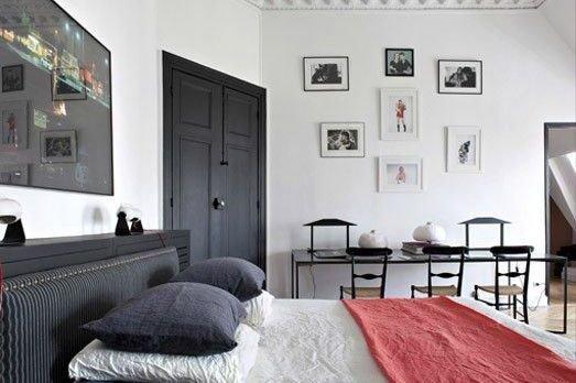 Фотография: Спальня в стиле Скандинавский, Эклектика, Индустрия, Люди – фото на INMYROOM