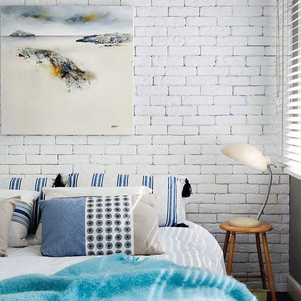 Фотография: Спальня в стиле Скандинавский, Декор интерьера, Декор дома, Стены – фото на INMYROOM