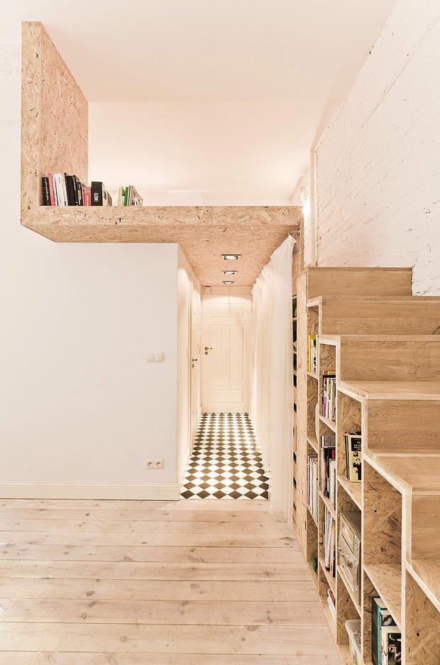 Фотография:  в стиле Скандинавский, Современный, Малогабаритная квартира, Квартира, Дома и квартиры – фото на INMYROOM