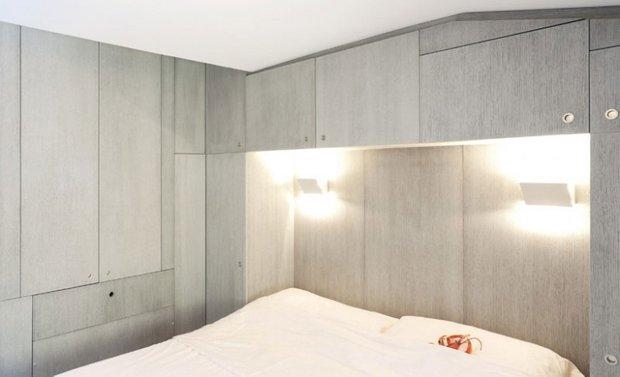 Фотография: Спальня в стиле Скандинавский, Современный, Квартира, Цвет в интерьере, Дома и квартиры, Белый, Минимализм – фото на INMYROOM