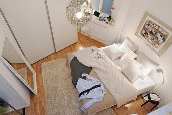 Фотография:  в стиле , Спальня, Декор интерьера, Интерьер комнат, Хрущевка – фото на INMYROOM
