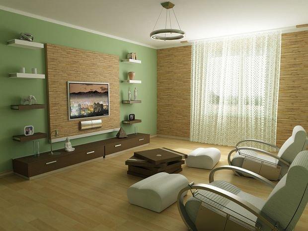 Фотография: Гостиная в стиле Эко, Декор интерьера, Квартира, Дом – фото на INMYROOM