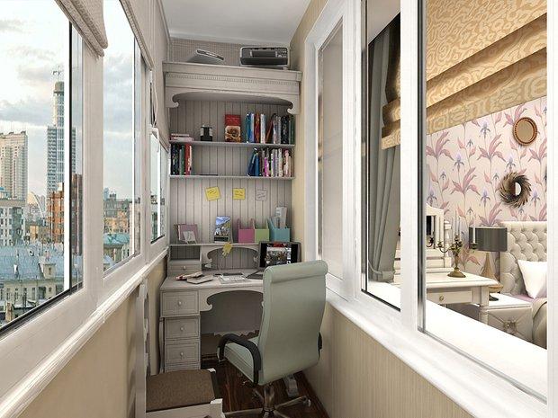 Фотография: Балкон в стиле Классический, Малогабаритная квартира, Советы – фото на INMYROOM